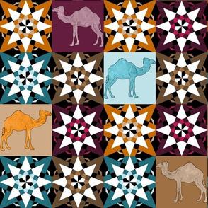 Moroccan Dromedary Tiles