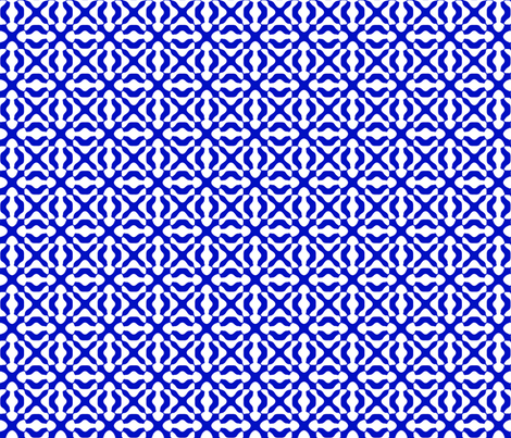 Modern Moroccan Tile fabric by fireflower on Spoonflower - custom fabric