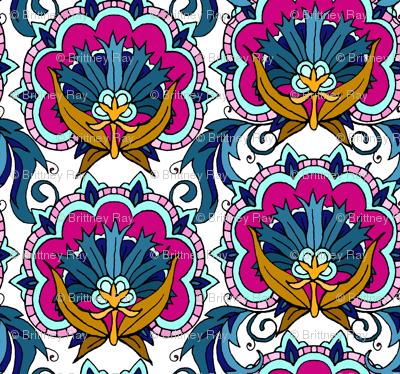 Fancy Tile Flowers