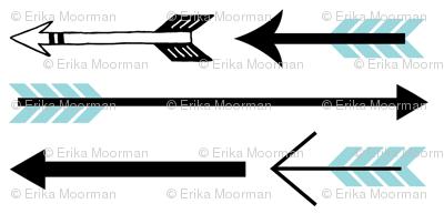 arrow play - sea black