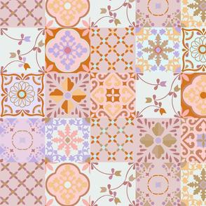 spanish tiles pink
