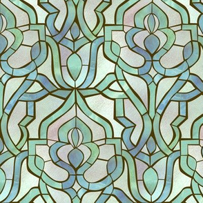 Marrakesh Mosaic {Ice Blue}