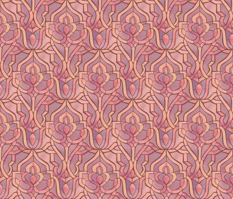 Marrakesh Mosaic {Petal} fabric by ceciliamok on Spoonflower - custom fabric