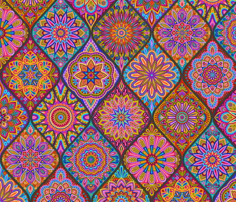The Marrakesh Express fabric by groovity on Spoonflower - custom fabric