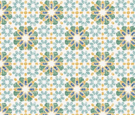 Morocco - Pond fabric by crumpetsandcrabsticks on Spoonflower - custom fabric