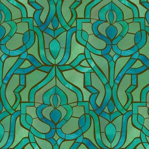 Marrakesh Mosaic {Emerald}