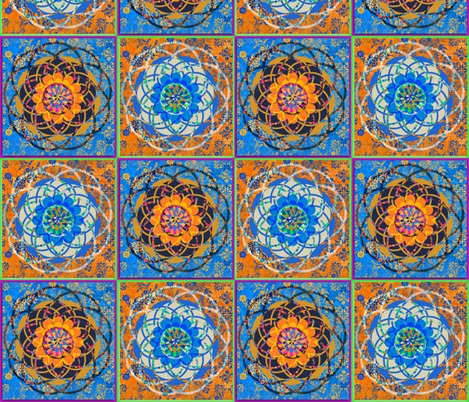 Morrocan Sprioartista fabric by lil_chick_ent_ on Spoonflower - custom fabric
