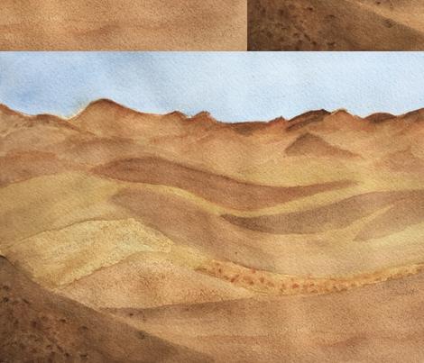 Desert Beauty fabric by druduffeyart on Spoonflower - custom fabric