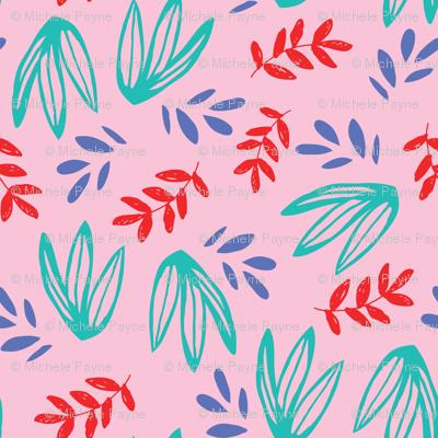 JUNGLE LEAF pink