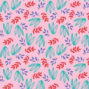 JUNGLE LEAF pink