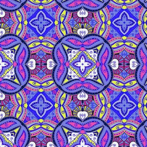 Violet oriental