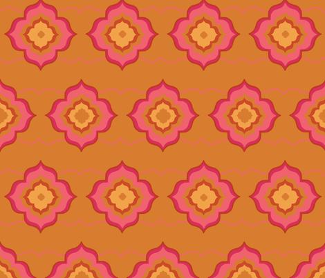 Morrocan Magic-01 fabric by orangepoppydesigns on Spoonflower - custom fabric