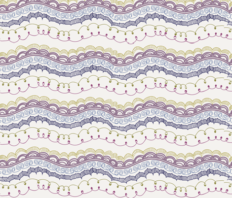 mksh hand drawn fabric by marinap on Spoonflower - custom fabric