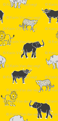 The big five - african animals