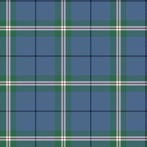 "Cleland tartan, 3"" faded (also Kneeland, Niland, MacClelland...)"