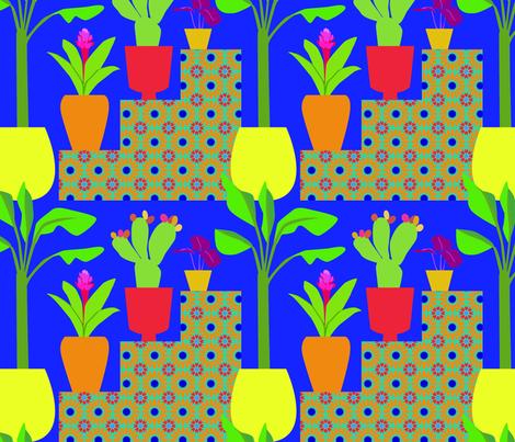 Marrakesh Steps fabric by kittenmoonstudio on Spoonflower - custom fabric