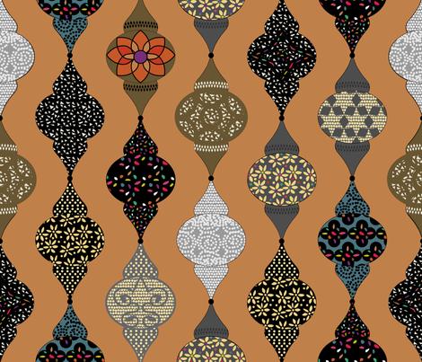 Moroccan Lanterns -  Marrakech fabric by goatfeatherfarm on Spoonflower - custom fabric