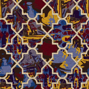 Marrakesh Morocco Bold Color Tiles
