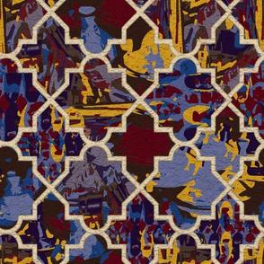 Marrakesh Morocco Bold Color Tiles