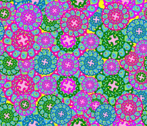 Heaps of Mandalas fabric by thegreenpoodle on Spoonflower - custom fabric