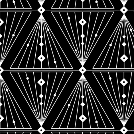Monochrome fabric by carimateo on Spoonflower - custom fabric