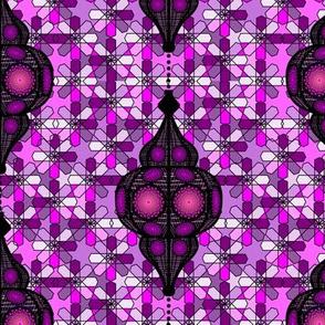 moroccan lantern pink