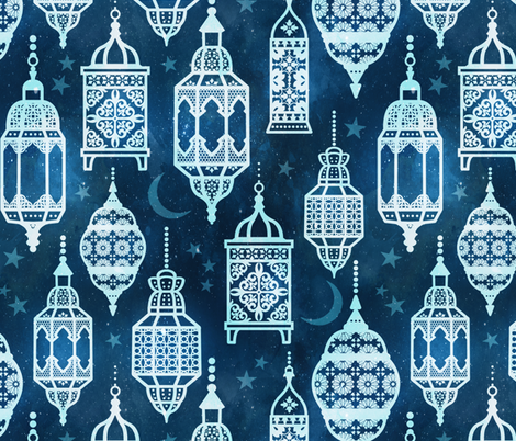 Marrakech nights fabric by adenaj on Spoonflower - custom fabric