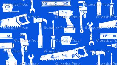 tools - blue