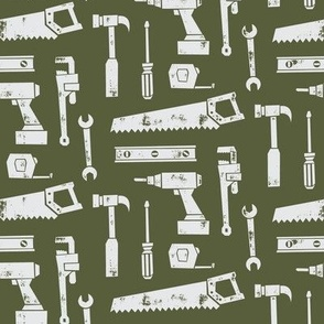tools - hunter green
