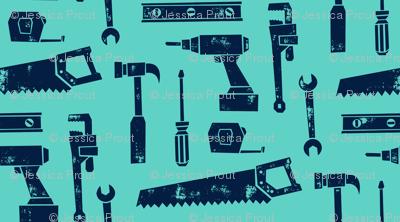 tools - aqua