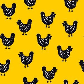 Chooks revisited - yellow