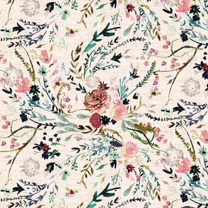 Fable Floral (LRG) (blush)