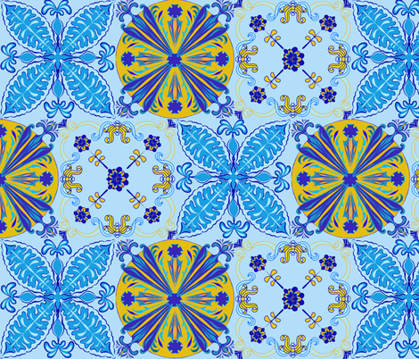 Marrakesh Love fabric by jacquelynbizzottodesign on Spoonflower - custom fabric