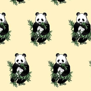 Bamboo Panda, Yellow