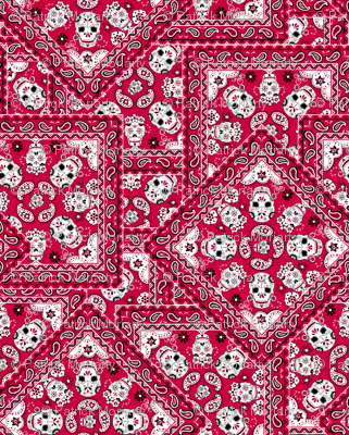 Skull-Bandana-Mexican-red