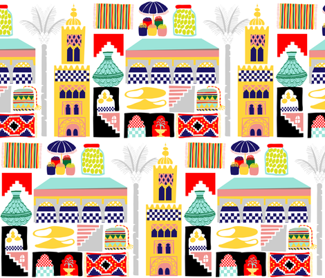 Marrakesh fabric by wink&smile on Spoonflower - custom fabric