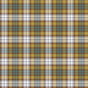 Gordon dress tartan, weathered colors, 2""