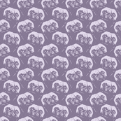 Pale Purple Pugs