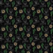Pinstripes De Los Muertos