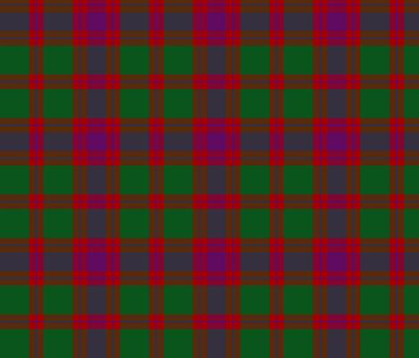 "Wilson's tartan #119, 6"" fabric by weavingmajor on Spoonflower - custom fabric"