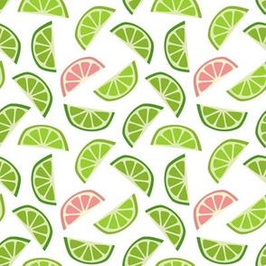 Limes and sneaky grapefruits