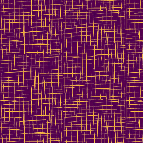 Toffee Crackles on Crushed Grape - Large Scale fabric by rhondadesigns on Spoonflower - custom fabric