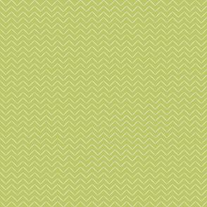 Babouche Lime Chevron Stripe