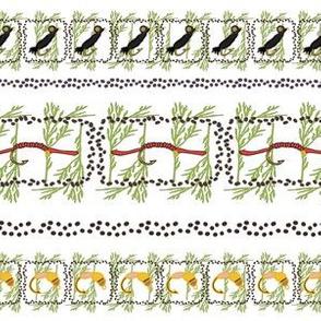 Rainbow Trout Pattern 1Border
