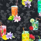Rwatercolor-summer-fruity-drink-dark-grey-black-by-floweryhat_shop_thumb