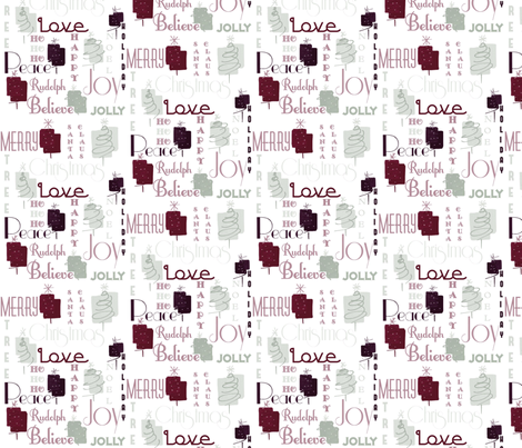 Elegant Holiday Limited Color Palette (Spoonflower) fabric by heckadoodledo on Spoonflower - custom fabric