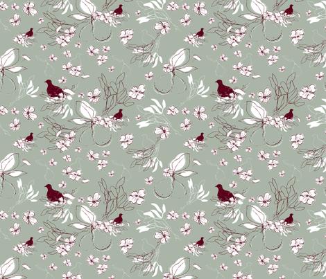 Elegant Holiday fabric by curtis_mcgintus on Spoonflower - custom fabric