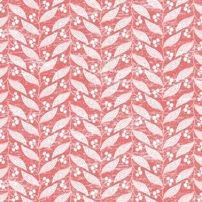 Leaves in Coral