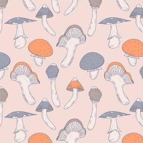 Mushroom Chic Pattern
