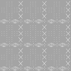 gray mud cloth